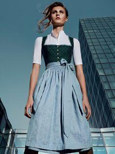 """Dirndl """"Frida"""" von GOTTSEIDANK in einem atemberaubenden Design"""