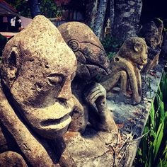 How cool are these guys? #lombok #senggigi #statues #travel #travelphotos #travellingtheworld #indonesia #upsticksngo #lombok | Flickr - Photo Sharing!
