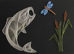 Google images clip art free of fish fish outline image for Fish string art