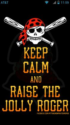 Pirates and baseball?  Count me in!
