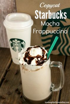 Blog post at Love, Laughter, Foreverafter : Copycat Starbucks Mocha Frappuccino Recipe   I love Starbucks frapuccino, problem is the cost of buying it adds up and can really hurt my[..]