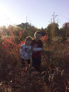 Fall in a field