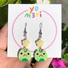 Frog Life, Instagram Shop, Polymer Clay Earrings, Waiting, Link, Shopping