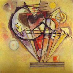 Kandinsky revolucionó la interpretación colorimétrica por la constante necesidad de satisfacer las respuestas providentes del alma.