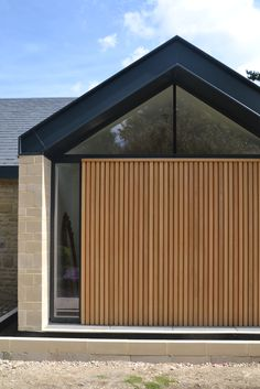 Peak District contemporary bungalow, extensive remodelling project by Selencky///Parsons Dynamic Architecture, Residential Architecture, Interior Architecture, Side Extension, Extension Designs, Stain Colors, New Builds, Design Projects, Building A House