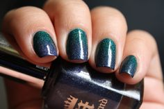 Gradient with A England Saint Georges and Tristam | from Lexie at NailGirl.net