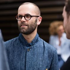 Faces by The Sartorialist: style inspired by eyeglasses