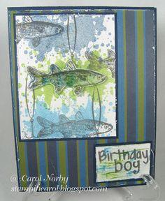 A Fishy Birthday Card