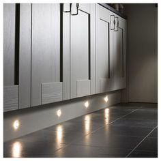 Kitchen Plinth, Pallet Delivery, Kitchen Lighting, Halo, Locker Storage, Kitchen Design, New Homes, Led, Lights