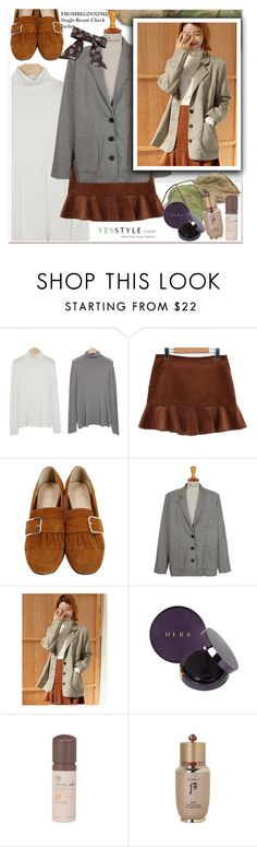 """""""YesStyle - 10% off coupon"""" by paculi ❤ liked on Polyvore featuring The History of Whoo, yesstyle and prefall"""
