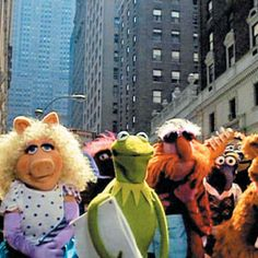 NYC. The Muppets Take Manhattan!