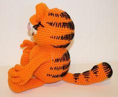 Amigurumi Gato Paso A Paso : Garfield amigurumi crochet garfield cat cute soft toys pinterest