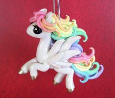 Pastel Pegasus in Flight by DragonsAndBeasties.deviantart.com on @deviantART