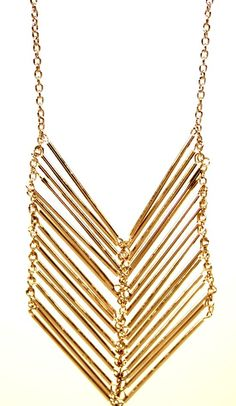 #chevron #necklace #nonprofit #brand www.begoodclothes.com $32