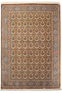Cod. 5409 Kum seta 295x200. Tappeto persiano, persian rug.