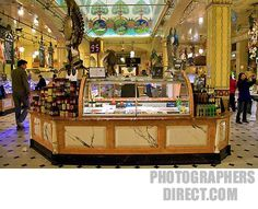 Harrods Department Store in London, England