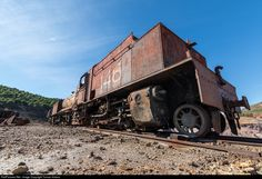 RailPictures.Net Photo: Untitled Babcock & Wilcox Garratt at Minas de Riotinto, Spain by Tomas Votava