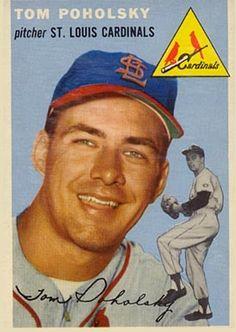 1954 Topps Tom Poholsky #142 Baseball Card                                                                                                                                                     More