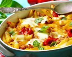 Pâtes gratinées riches en fibres aux légumes du soleil : http://www.fourchette-et-bikini.fr/recettes/recettes-minceur/pates-gratinees-riches-en-fibres-aux-legumes-du-soleil.html