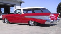 ( ☞ 2017 ☆ TWO COLORED HOT ROD ⛽ ☆ 1957 Chevy Nomad.