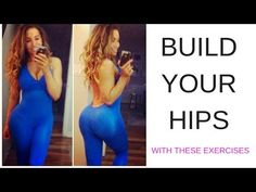 BUILD YOUR HIPS - Exercises to FIX your HIP DIPS - YouTube