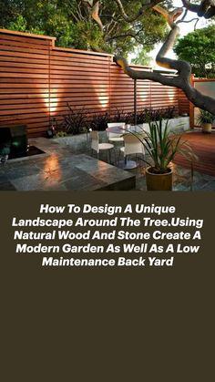 Backyard Patio Designs, Small Backyard Landscaping, Backyard Fences, Modern Landscaping, Diy Patio, Patio Ideas, Landscaping Ideas, Cool Backyard Ideas, Outdoor Fencing