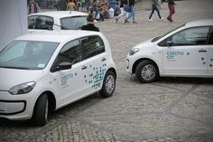Tageswoche: So sehen sie aus. 100 Fahrzeuge des Mobility-Services stehen in Basel für zwei Jahre zur Verfügung.