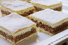 Juhoslovanský krémeš | NejRecept.cz Baked Goods, Tiramisu, Sweet Tooth, Cheesecake, Deserts, Easy Meals, Dessert Recipes, Food And Drink, Nutella