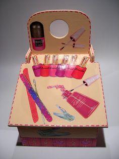 Caixa para Manicure / Maquilhagem - Filomena Magalhães - Álbuns Web Picasa