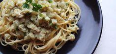 Spaghetti z dorszem i białym winem - main