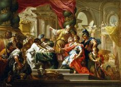 Alexander the Great in the Temple of Jerusalem - Joodse tempel - Wikipedia Most Famous Paintings, Great Paintings, Oil Paintings, Popular Paintings, Acrylic Paintings, Alexander The Great Death, Jerusalem, Alexandre Le Grand, Poster Pictures