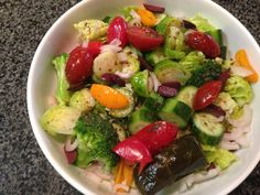 Greek Salad Plus & Homemade Dressing