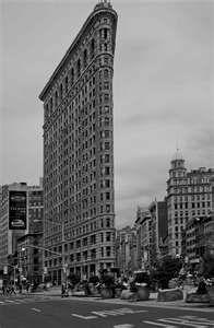 Stieglitz - view of the Flatiron building, NYC.