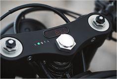 "1978 HONDA CB750 | BY CLOCKWORK MOTORCYCLES Sleekest ""gauges"" ever!"