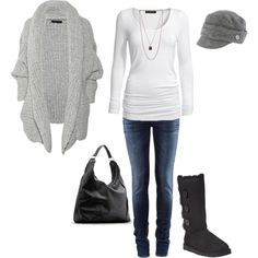 Winter weekend outfit