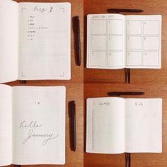 バレットジャーナル公式サイト「入門ガイド」日本語訳 - わたしのバレットジャーナル Bullet Journal How To Start A, Bujo, Notebook, Instagram, The Notebook, Exercise Book, Notebooks