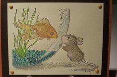 Friends - House Mouse Stamps