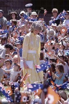 Princess Diana in Australia, early 80s