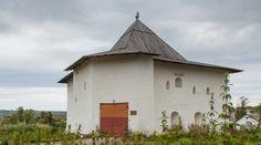 Вязьма. Спасская башня Вяземской крепости (Вяземского кремля)