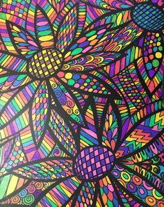 ColorIt Colorful Flowers Volume 1 Colorist Susie VanLoan McCaffrey Adultcoloring Coloringforadults