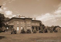 Limestone House in Cawker City, KS - Biking Across Kansas 2008