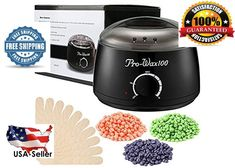 Wax Warmer Heater Pot Machine 100g Beans hair  Removal Sticks Hard Wax Beans #Esarora