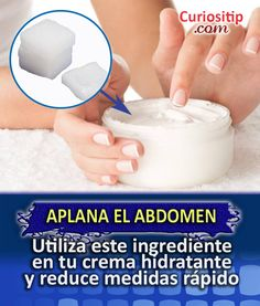 4 Cremas Reductoras Caseras para Reducir Abdomen | Curiositip