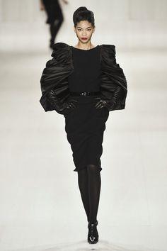 Black - Fashion - Beauty - Runway