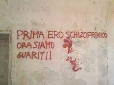 Risultati immagini per scritte sui muri