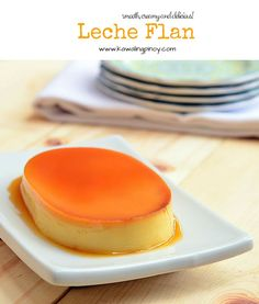 With smooth, creamy custard and golden caramel syrup, this leche flan is sure to become a family favorite!
