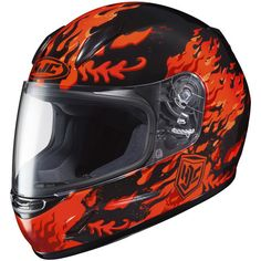 CL-Y FLAME FACE True Youth Size Polycarbonate Shell: Lightweight, superior fit and comfort using advanced CAD technology Helmets For Sale, Kids Helmets, Full Face Helmets, Four Wheelers, Motosport, Snowmobiles, Motorcycle Helmets, Headgear, Kids Gifts