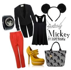 Mickey Mouse would love to wear this to maysies party :) he will be wearing red pants a black shirt and yellow shoes with his mickey hat!!