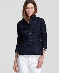 Burberry Brit Kencott Lightweight Quilt Jacket
