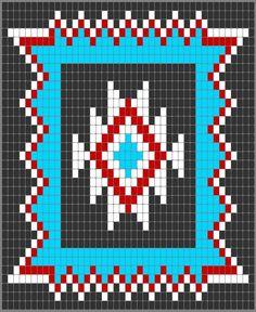Navajo Star /Beautiful EL./ Handarbeiten ☼ Crafts ☼ Labores ✿❀.•°LaVidaColorá°•.❀✿ http://la-vida-colora.joomla.com
